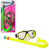 Дитячий набір для плавання і пірнання - маска і трубка, 65082A-92A