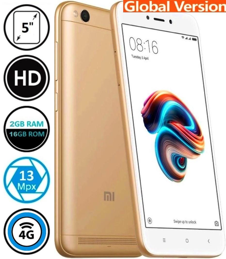 Смартфон Xiaomi Redmi 5A 2/16Gb Gold 4G (Global Version)