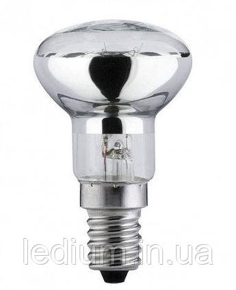 Лампа накаливания рефлекторная R50 25 Ватт Е 14