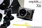 Авторегистратор стильный в машину Anytek X6 металлический видеорегистратор Full HD, фото 2