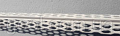 Уголок для мокрой штукатурки пластиковый ПВХ длина 2,5 м.п.