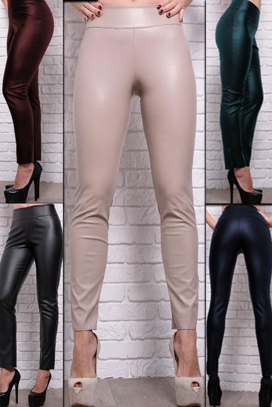 Моделирующие брюки Лиора экокожа
