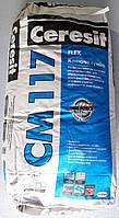 Клей для камня и плитки Ceresit CM 117 (Церезит СМ 117) 25 кг.