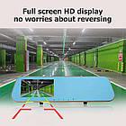 Зеркало видеорегистратор мультимедийный Anytek N8 4.3 регистратор зеркало  DVR камера заднего вида, фото 2