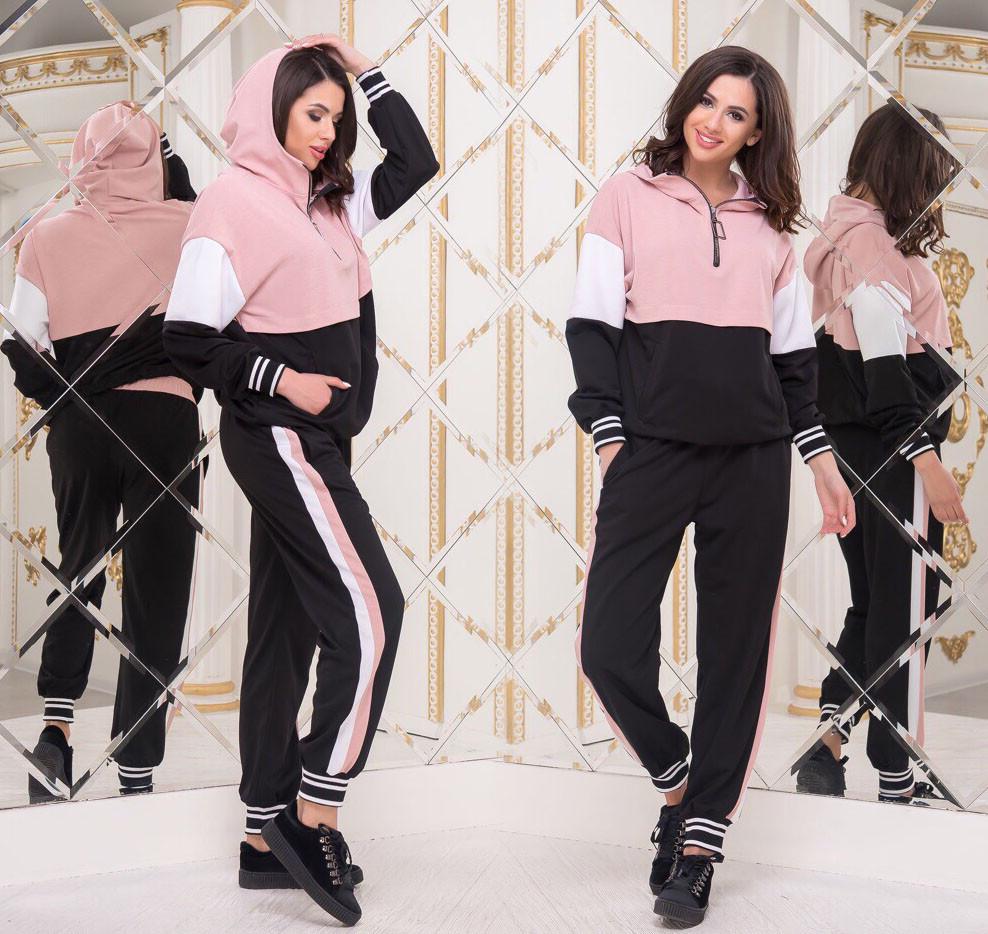0a614aab Женский стильный спортивный костюм демисезон 334-1