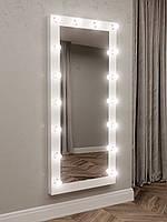 Макияжное зеркало в раме с лампочками Sedolite (753472)
