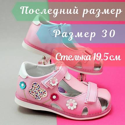 Розовые босоножки Ортопед для девочек Tom.m размер 30, фото 2