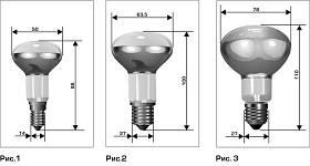 Рефлекторные лампы накаливания