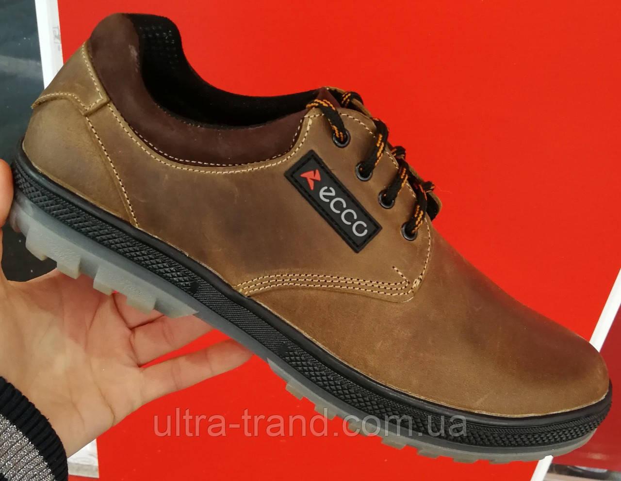ECCO кожаные туфли осень из натуральной кожи ботинки обувь реплика -  Интернет магазин Ultra-Trend c2f0624e4b82b