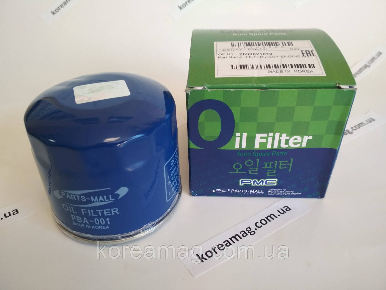 Фильтр масляный для Hyundai Kia