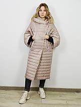Пальто-одеяло женское бежевое Alberto Bini 30145, фото 2