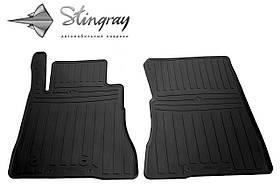 Передние резиновые коврики FORD Mustang VI 2014- (2 шт) Stingray 1007212