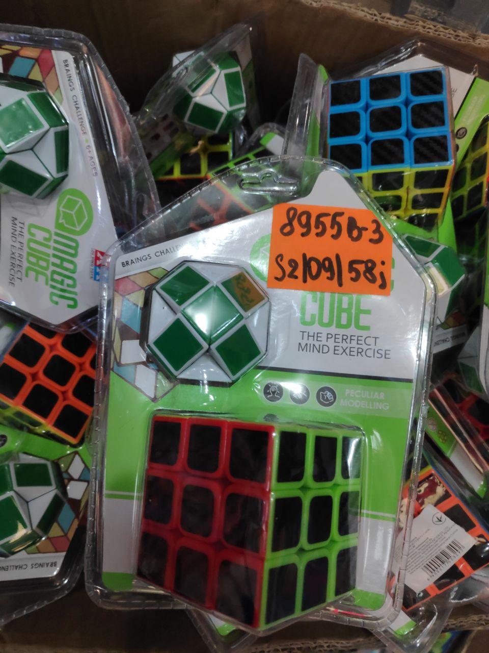 Кубик+змейка 8955В-3