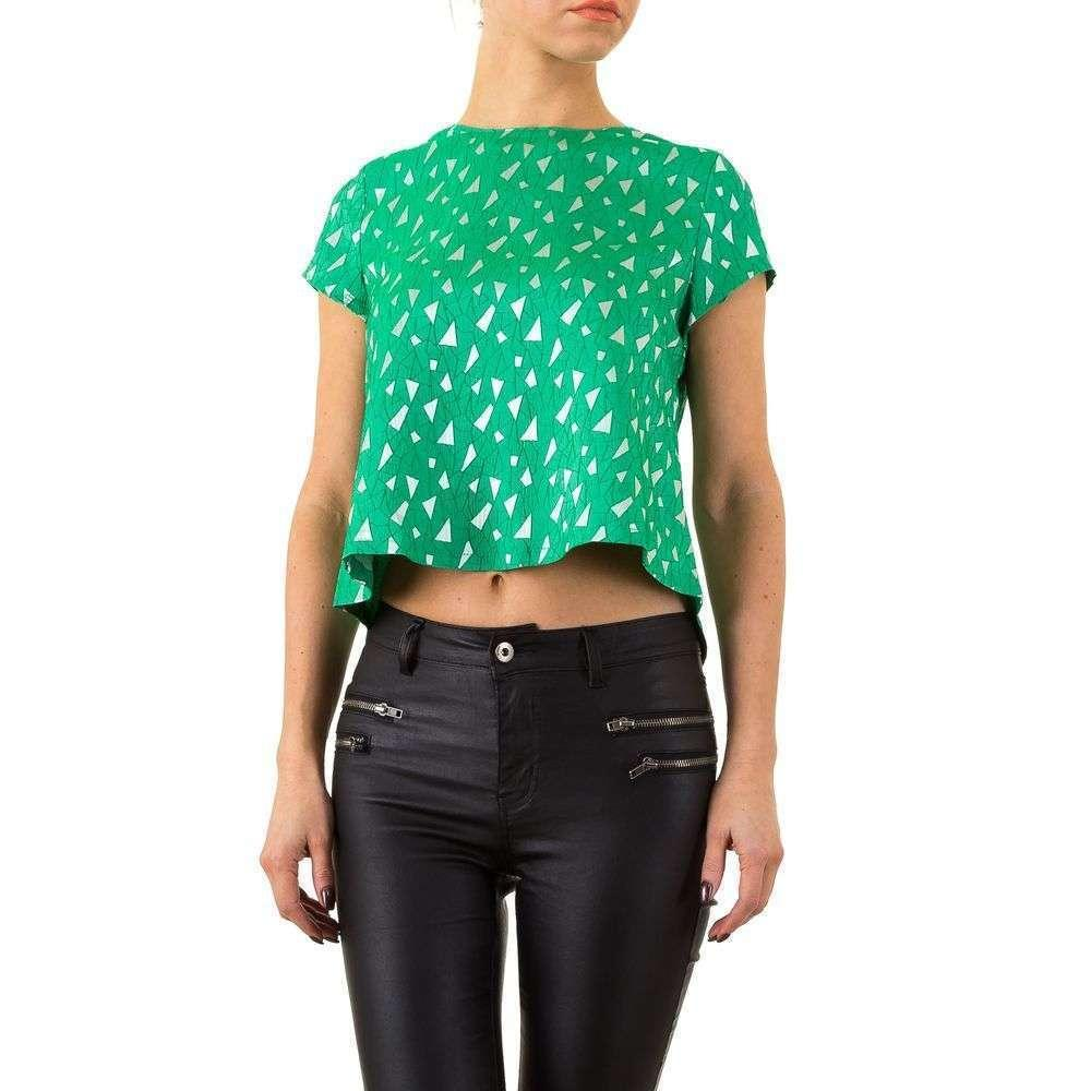 Женская блузка от Marc Angelo - green - KL-MA10958-P856-зеленый