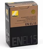 Батарея акумулятор Nikon EN-EL15, D7000, D7100, D7200, D750, D600, D610, D800, 1 V1, D500, D610E, D810