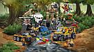 """Конструктор 02061 """"База исследователй джунглей"""" 870 дет., в собран.кор.54*8.5*44 Аналог LEGO City 60161, фото 6"""