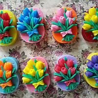 Мыло 8 марта с тюльпанами
