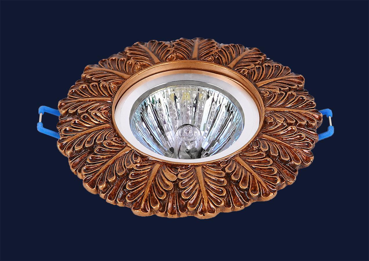 Точечный врезной светильник Levistella 7471016 COF
