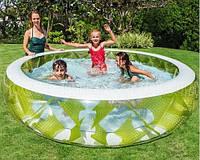 Детский надувной бассейн Intex 57182 Колесо 229 х 56 см, фото 1