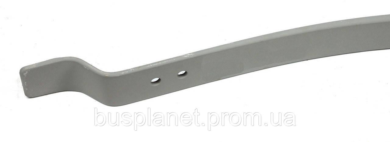 Рессора задняя подкоренная (h=25mm, 70*740*753) (однолистовая, без отверстия) 903