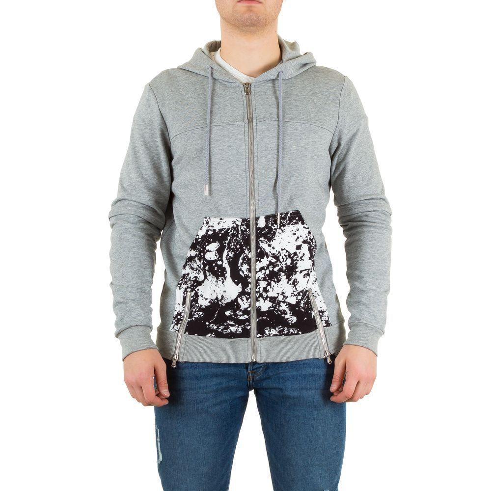 Мужская спортивная куртка от Sixth June, размер S - гри - KL-H-1412-378-CV-gris S
