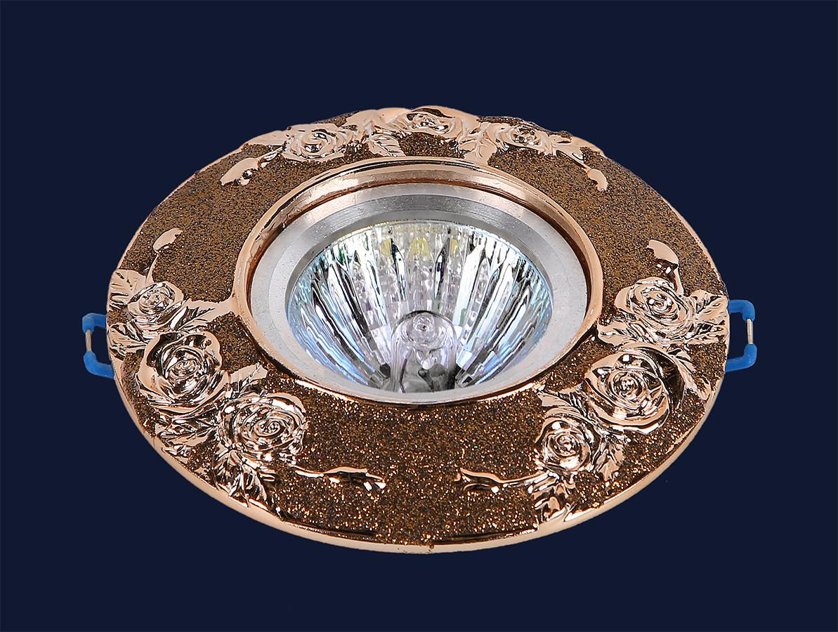 Точечный врезной светильник Levistella 7474409 GN