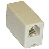 Соединительная коробка RJ11 CAT 5e UTP phone телефонный