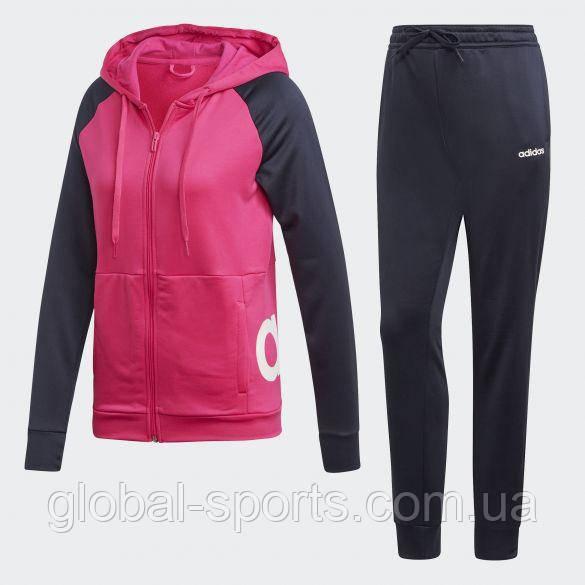 740de519 ... Женский спортивный костюм Adidas Linear Tracksuit Regular(Артикул:DV2426),  ...