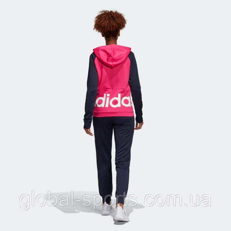 2eae690dad7 ... Женский спортивный костюм Adidas Linear Tracksuit  Regular(Артикул DV2426)