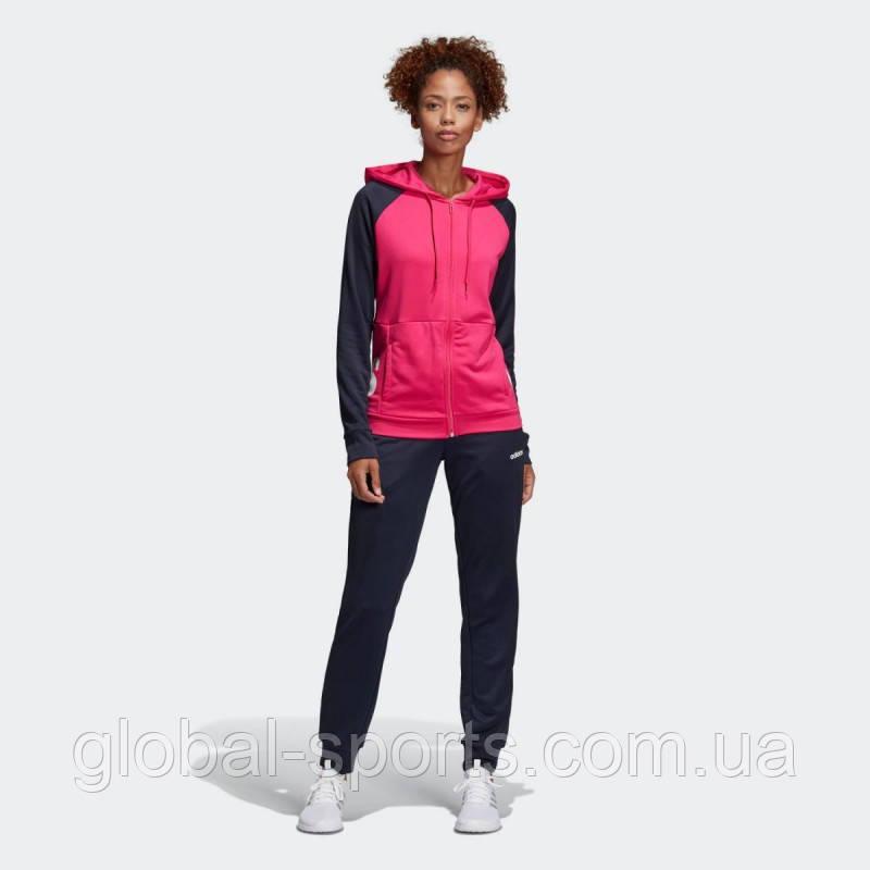 180db2f470d Женский спортивный костюм Adidas Linear Tracksuit Regular(Артикул DV2426) -  магазин Global Sport