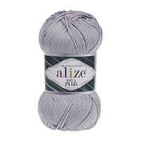 Alize Diva Plus  - 527 синий туман