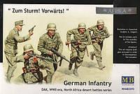 1:35 Немецкая пехота, Master Box 3593;[UA]:1:35 Немецкая пехота, Master Box 3593