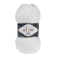 Alize Diva Plus  - 1055  белый