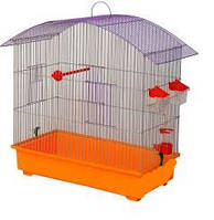 Клетка для попугая Омега (660 х 315 х 620) цинк