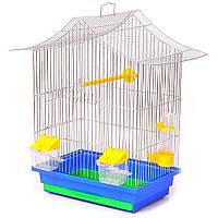 Клетка для попугая, амадинн, канарейки Мини  3 цинк 330х230х470 мм