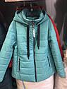 Осенняя женская куртка Виола Размер 54, фото 5