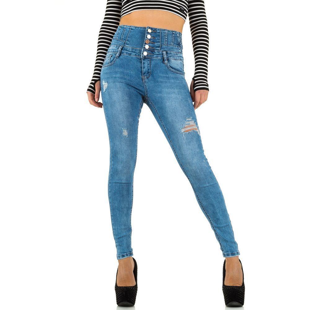 Женские джинсы от Laulia, размер S/36 - синий - KL-J-J955-blue S/36