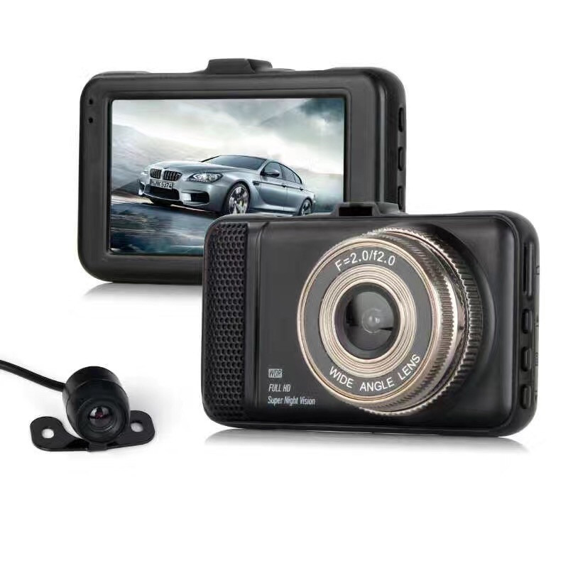 Камера в машину відеореєстратор T659+ Titan 2 камери FullHd