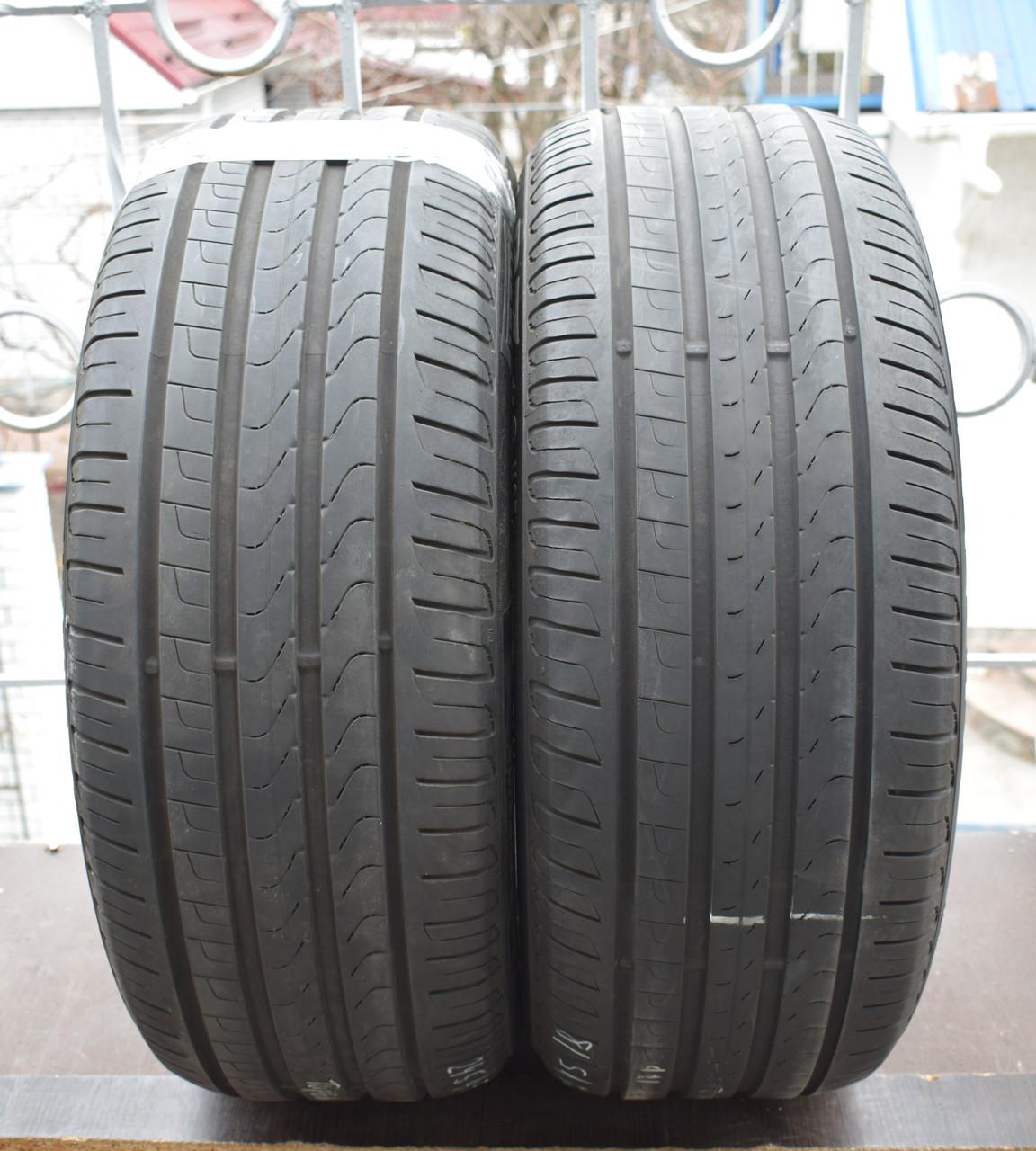 Летние шины б/у 245/45 R18 Pirelli Cinturato P7, пара