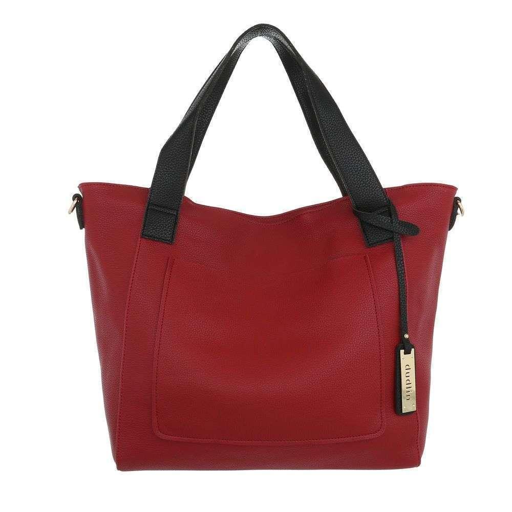 Женская сумка шоппер-red - ТА-9435-3-red