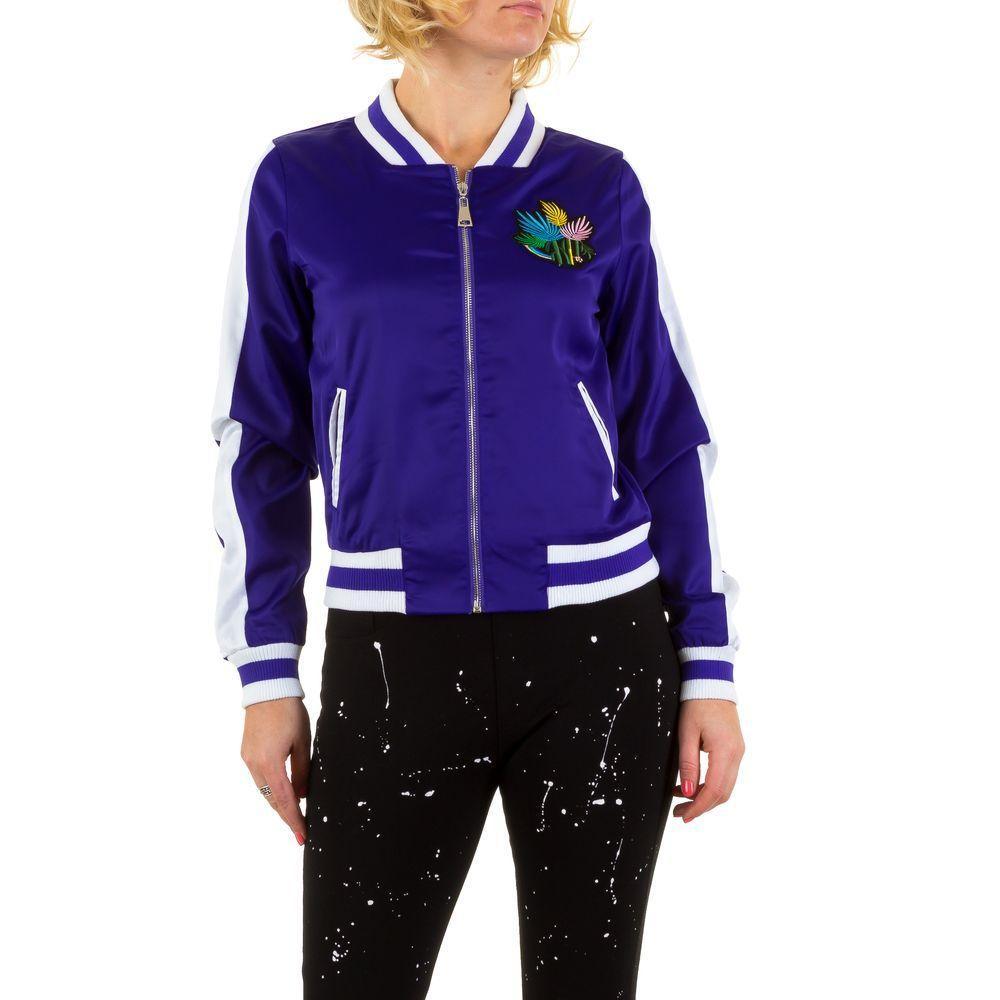 Куртка пилот с вышивкой на груди Emma&Ashley Design (Европа), Синий