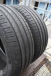 Летние шины б/у 245/45 R18 Pirelli Cinturato P7, пара, фото 5