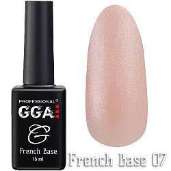 Френч  база GGA Professional 07, 15 мл