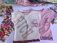 Летняя футболка для девочек от 2 до 5 лет., фото 1