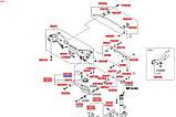 Тяга стойка стабилизатора заднего правая, KIA Sportage 2013-15 SL, s555403r000, фото 3