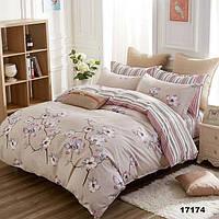 Семейный комплект постельного белья ТМ Вилюта 17174, ранфорс