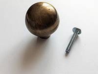 Мебельная ручка  кнопка Belwith ,метал, круглый  шар