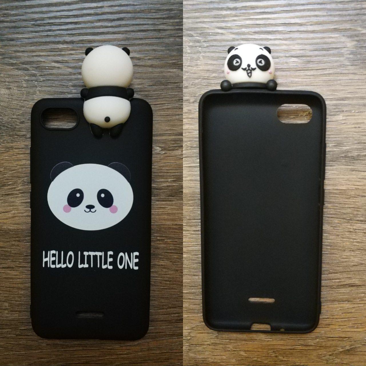 Чехол 3d игрушка для Xiaomi Redmi 6a Панда