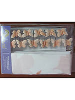 Штора для ванной 180х180 Arya Clover с бабочками