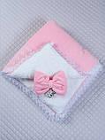 """Зимний конверт-одеяло """"Дуэт"""" розовый, фото 2"""